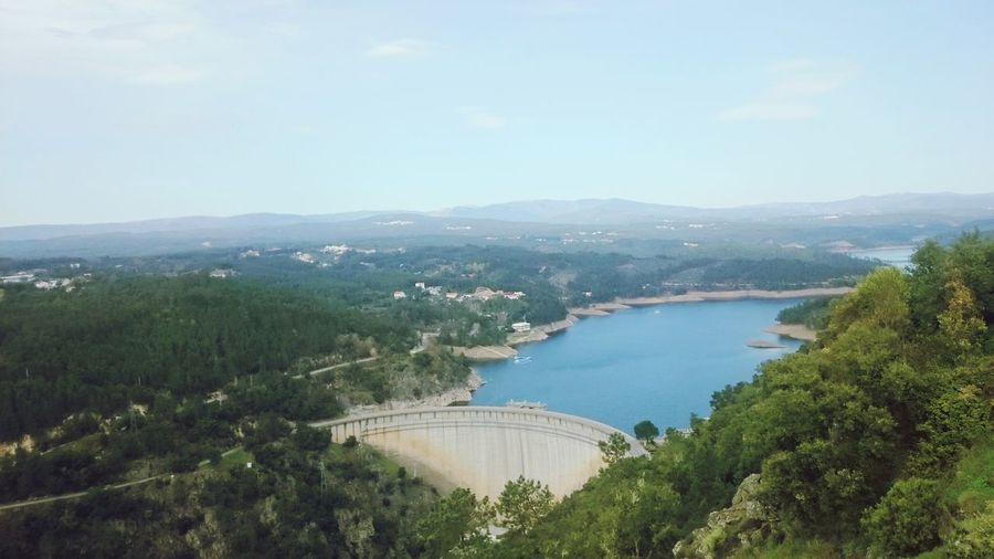 Water Architecture Nature Pedrogaogrande Barragem Barragensdeportugal BarragemCabril Portugal Built Structure Beauty In Nature Castelo Branco Mountain Range Beirabaixa Mountain River