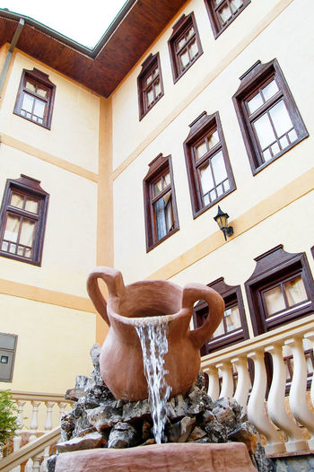 well known turskish house in debar,macedonia Animal Themes Architecture Building Exterior Built Structure Day Debar, Macedonia Débarquement Monument No People Old Turkish House Water Jug