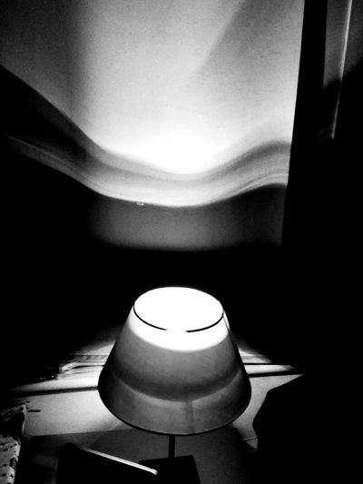 Light and shaddow Indoors  No People Close-up Night Black And White Shaddow Shaddow And Light Lamp Light
