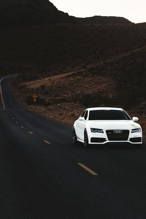 Audi Transportation Mountain Car Land Vehicle Road Mode Of Transport Outdoors Mountain Range Nature Scenics Vehicle Van Non-urban Scene Beauty In Nature Tranquil Scene The Way Forward Tranquility