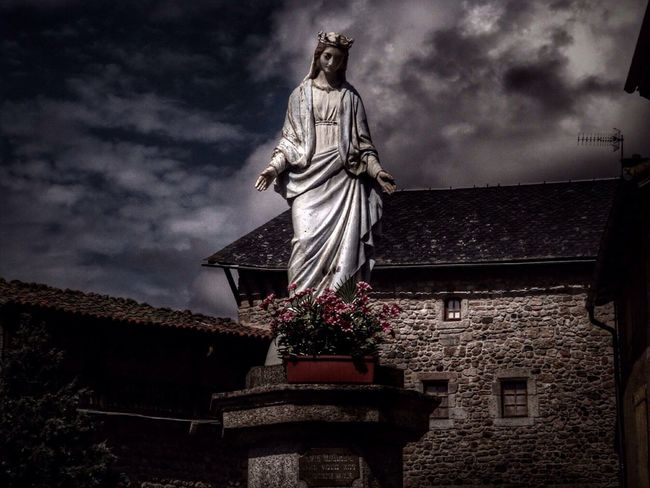 I DEVOTION I Stenkas Colored World Art Religious_art Sculpture Statue and also Hello World Check This Out Taking Photos EyeEm EyeEm Best Shots