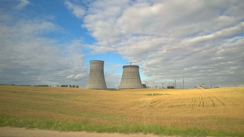 Nature Farming Nuke Nuclear Power Plant Energy Toxic Environment Belarus Lithuania Lietuva Astravas Baltarusija Atomine