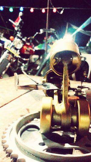 At Sintang Expo 2016 #D'Joker Creativity Art Motorbike Spareparts Youngartists Youngart Sintang Sintangexpo Westborneo Kalimantan Barat