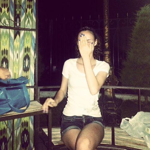 лето вечер бисетка гуляли сестренка Тетя сестра я