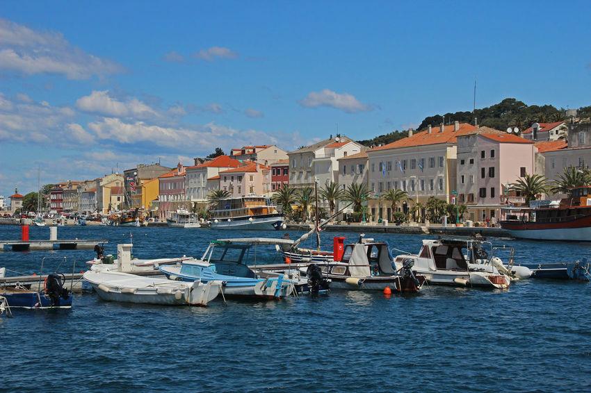 Croatia Hafen Harbour Kroatien Mediterranean Sea Meer Urlaub ❤ Mali Lošinj Vacation Destination