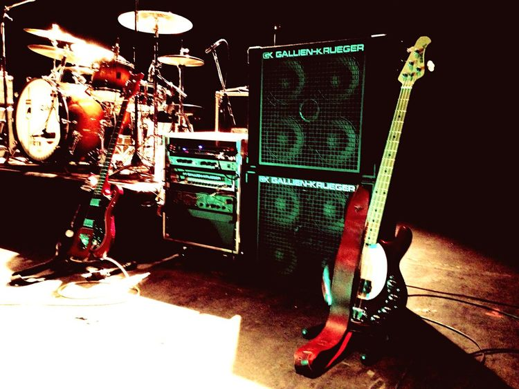 The red team was ready to show! gk Gallien Krueger Musicman Hagstrom Thewall First Eyeem Photo