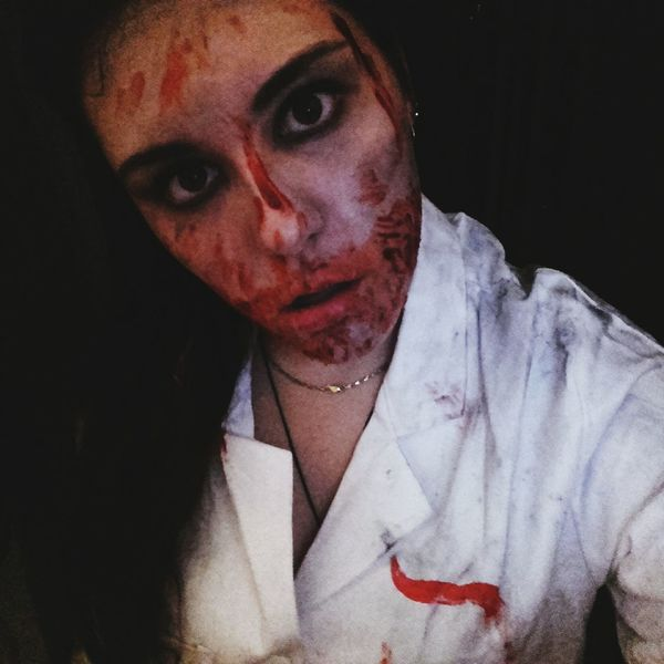 Zombie Maquillageartistique Sang