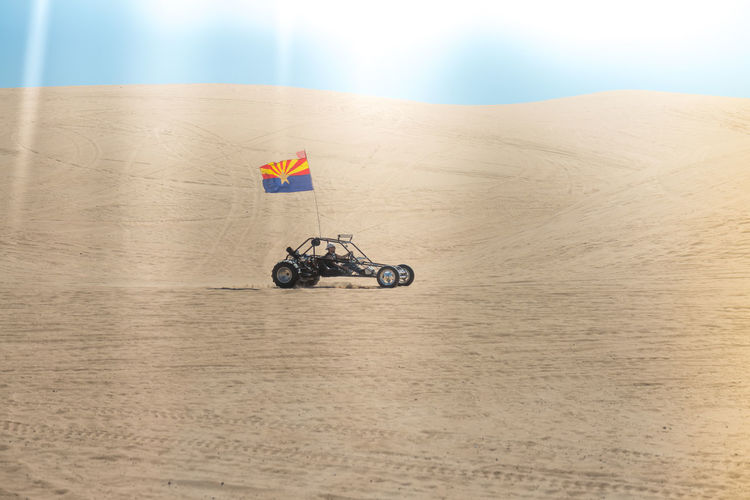 Sand dune buggy Adventure Atv Bicycle Day Extreme Sports Land Vehicle Leisure Activity Lifestyles Mode Of Transport On The Move Race Riding Sand Dunes Sport Transportation Travel