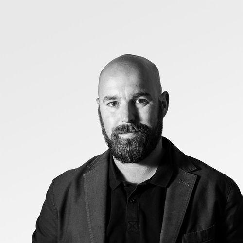 Sebastian Fritzsche Portrait Casual Clothing Adult Man Blackandwhite Portrait Photography