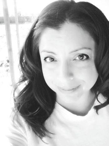 Hi! That's Me Hanging Out Enjoying Life Black & White