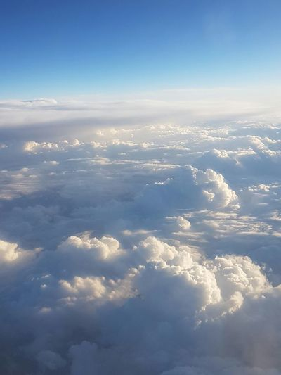 Blue Sky Cloud - Sky Airplane Nature Backgrounds Aerial View Scenics No People Beauty In Nature Day Outdoors Aerospace Industry Summer Sunlight Dramatic Sky Tranquility Adelade , South Australia Sydney, Australia Holiday