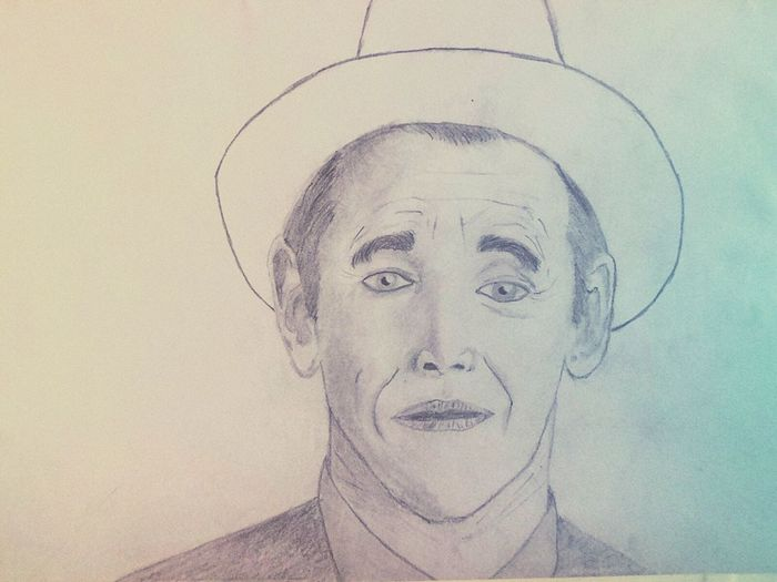 #actors #drawing #hobby  #mark_rylance #no_colors #NoFilter #paperplanes  #pencil #portrait #simplicity
