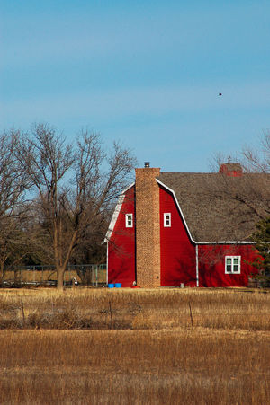 Architecture Barn Building Exterior Built Structure Day No People Outdoors Red Rural Rural Life Sky