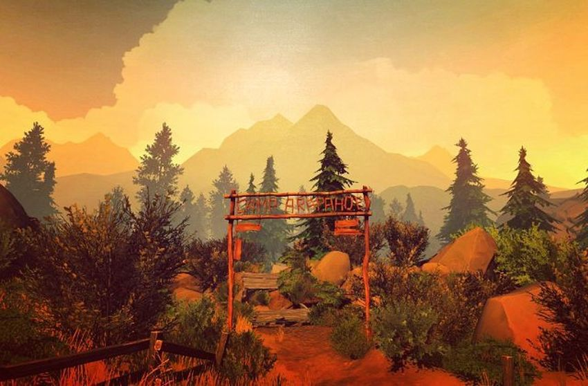 Firewatch Game Screenshot Gaming Videogames Games Game Nerd Picoftheday Videogame  Landscape Photography Lovely Lovelyday Xbox Xbox360 Instagram Travel Traveldiaries PCGaming IGN Kotaku Pcgamer Lovely Lovelyday world camping artistic amazing captures herewego lifeisgood