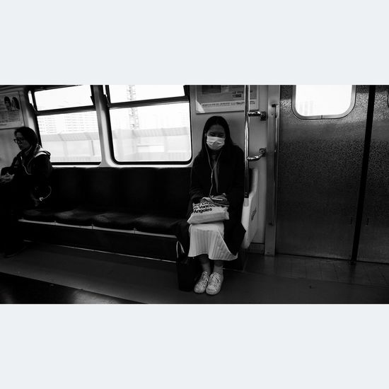 my world... Small World Alone Subway Monochrome Streetphotography Street Photography Journey Woman Inspire ExpressYourself Point Of View Surreal Dream Capture The Moment EyeEm Best Shots Eye4photography  Dynamic Art Photography Cinematic City Life