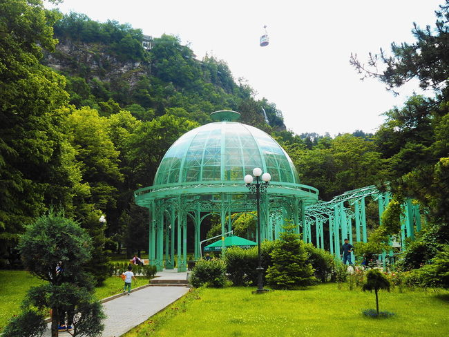 Architecture Bored Building Exterior Built Structure Clear Sky Day Dome Georgia Grass Green Color Growth Men Nature Outdoors Park - Man Made Space People Real People Sky Travel Destinations Tree