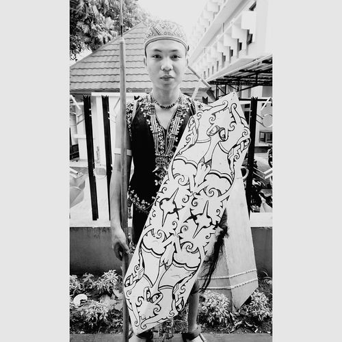 East Borneo Culture Mid Adult Adults Only One Person Portrait Full Length Outdoors One Woman Only Adult People Day Period Costume First Eyeem Photo