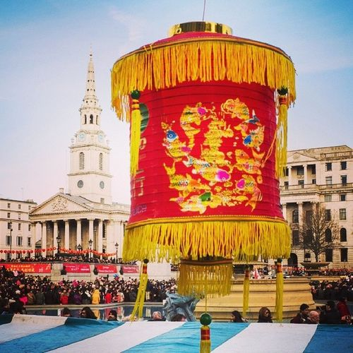 Lunar New Year at Trafalgar Square / St Martin's in the Fields Yearofthehorse Notphonepic