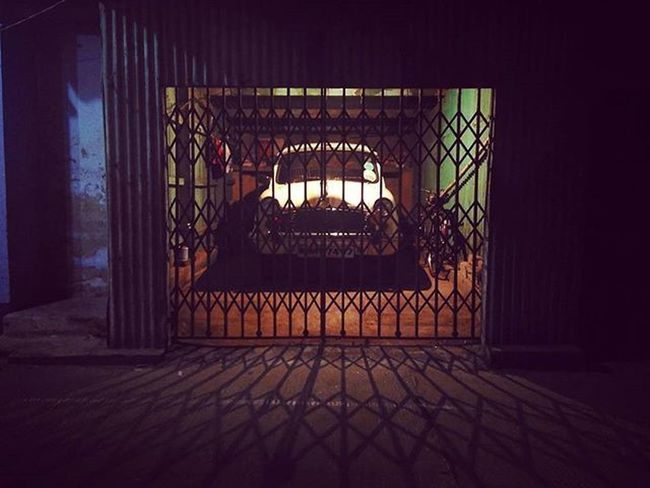 Caged Beast... Redmi2Prime Mi Garage Ambassador Shutters Night_time_mobile_photography Nighttime