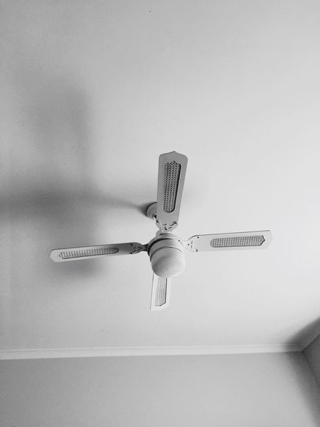 Ceilingfan Single Object Ceiling Motion Close-up Simplicity Still Life Ceiling Fan Selective Focus Domestic Life Focus On Foreground Man Made Object
