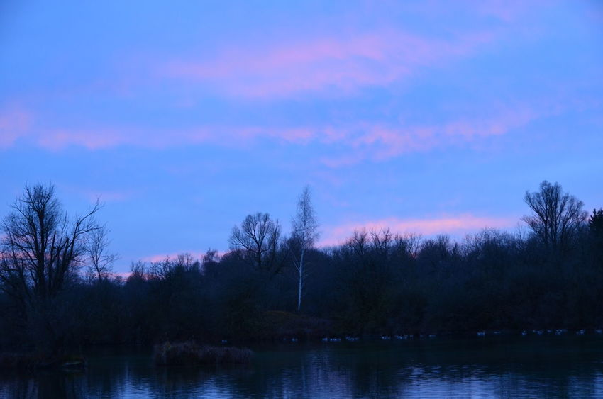 Nikon Nikon D5100  Beauty In Nature first eyeem photo Lake Nature No People Outdoors Scenics Sky Sunset Tranquil Scene Tranquility Tree Water Weitmannsee