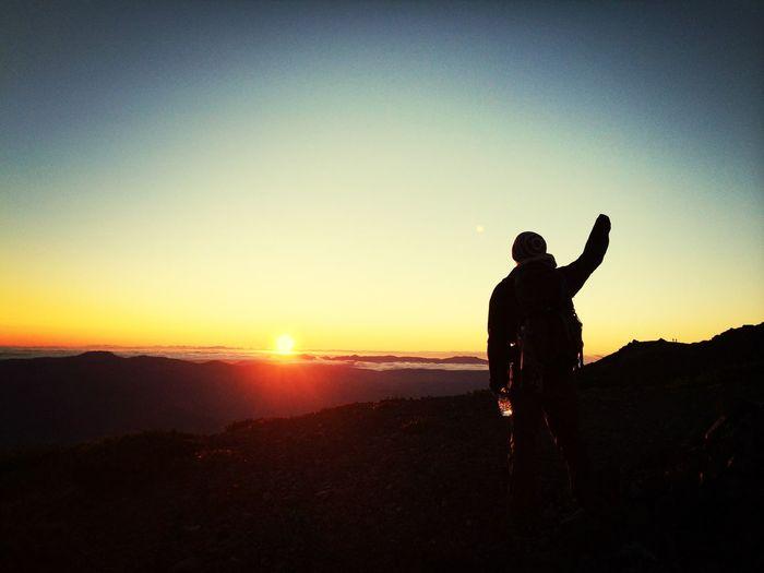 羊蹄山…御来光 Nature Mountain Goodmorning Sunrise