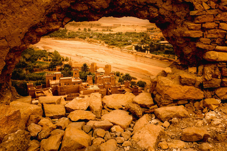 Colors Morocco View Angle Berbervillage Day Daytrip Nature No People Oldtown Outdoors Physical Geography Rock - Object Rock Formation Sand Dune Scenics Travel Destinations Tree My Best Travel Photo