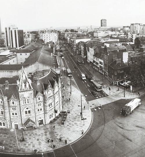 Blackandwhite Cardiff