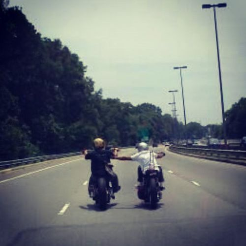 Tickle tickle.. Motorcyclepeople TheregoesmySaturday Ftw