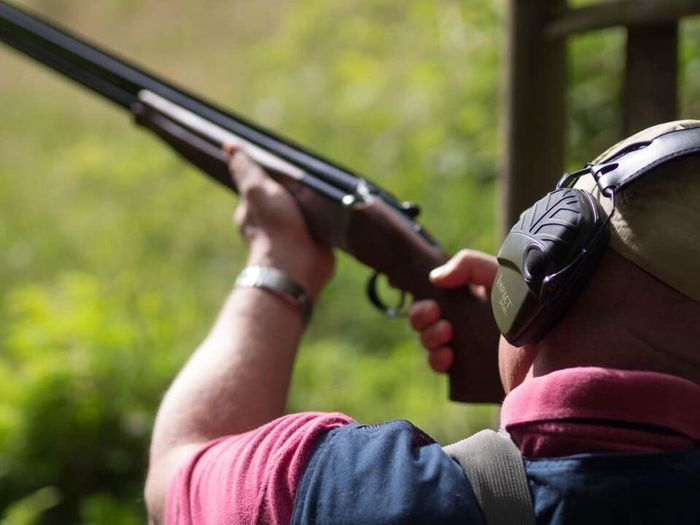 Shoot Shooting Clay Pigeon