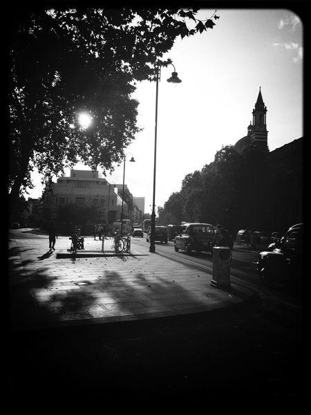 Black & White London Inspiration Street Photography Sunset