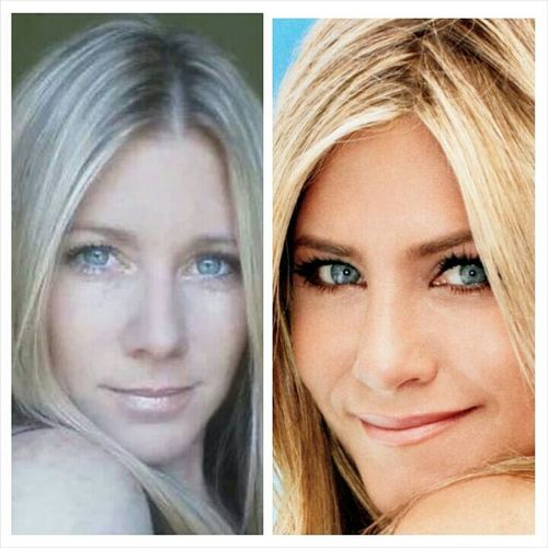 Lookalike Jenniferaniston Blue Eyes Selfie