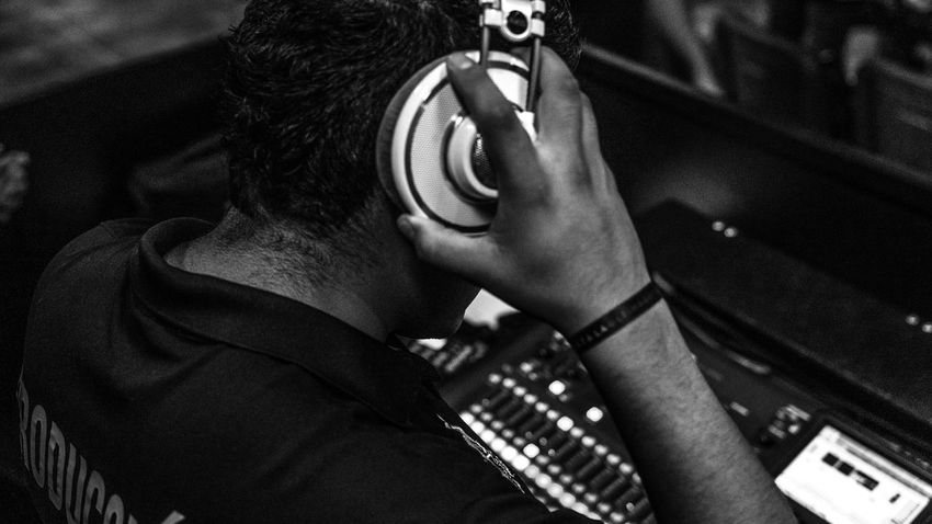 Staff Audio Console Men Production Ingeneer EyeEmNewHere