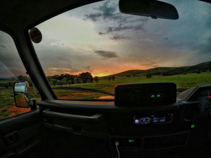 Sky Sunset Transportation Vehicle Interior Car Cloud - Sky Airplane No People Gopro Travel Explore 4x4 Landscape Nature Golden Hour Overland Air Vehicle Cockpit Close-up Outdoors Day Travel