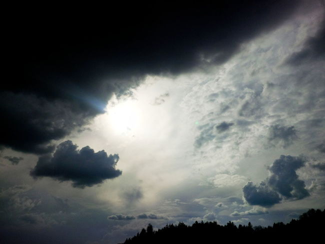 cloudy skyscape Black Cloudy Sky Cloudscape Cloudy Cloudy Day Dark Sky Beauty In Nature Black Clouds Cloud - Sky Clouds And Sky Day Idyllic Light Blue Sky Low Angle View Majestic Nature No People Outdoors Scenics Silhouette Sky Skyscape Sun Sun Behind Clouds Sunbeam Sunlight