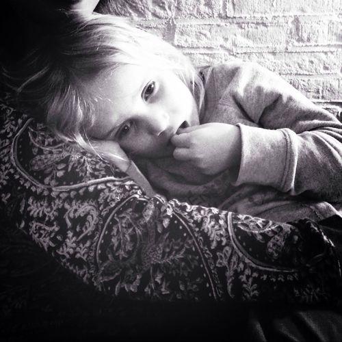 Tired sweetheart