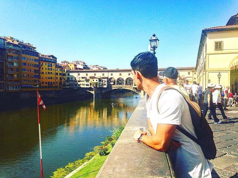 Lungarno Built Structure Me Special Moment Ponte Vecchio See Not Today Sentence Sky Colors Florence Beautiful EyeEm Best Shots Eye4photography