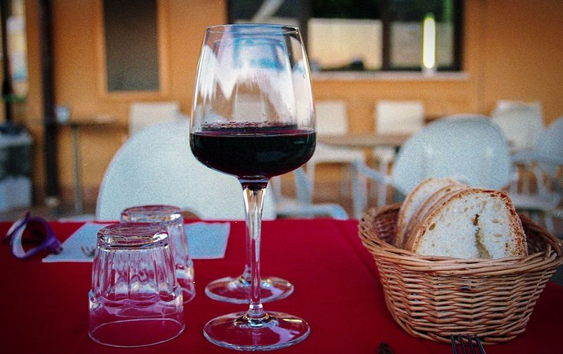 analog lifestyle Zeiss Filmisnotdead 35mm Film Analogue Photography EyeEm Selects Drink Refreshment Alcohol Glass Food And Drink Wine Wineglass Table Still Life Red Wine Freshness Drinking Glass