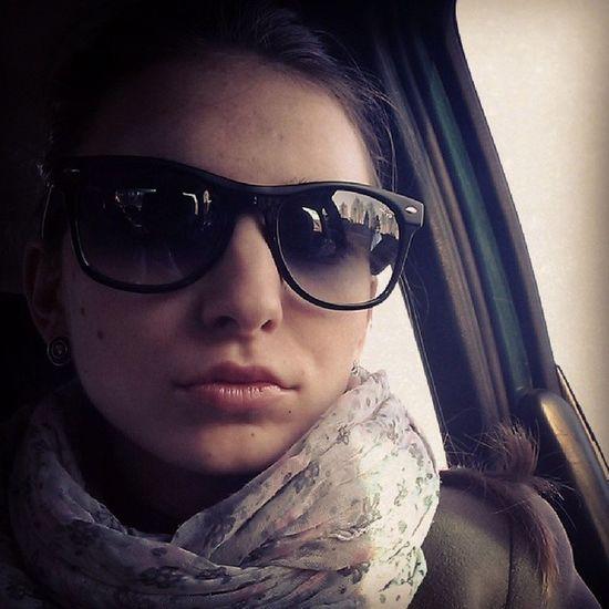 Папулю жду..как же хорошо ездить за рулем!) Lida Car Sun Happy
