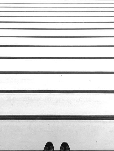 Black & White Black&white Blackandwhite Black And White Blackandwhite Photography Stairs Geometric Shapes Lines Taking Photos Feet