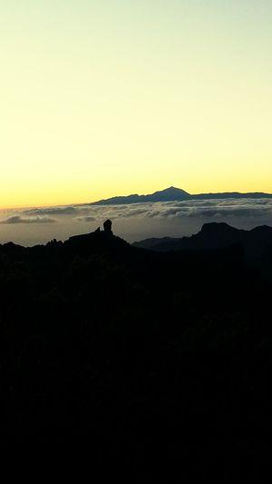 Gran Canaria Paradise El Paraiso Roque Nublo Teide Atardecer :)