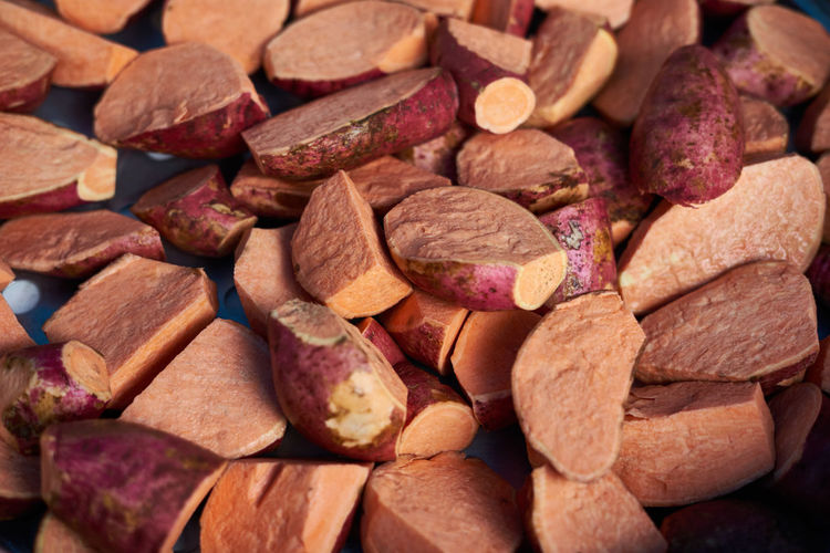 Pile of potato Background Close-up Detail Dried Fruit Food Food And Drink Large Group Of Objects No People Orange Color Photography Picoftheday Potatoes Text