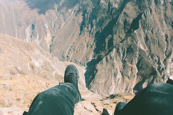 Beauty In Nature From Where I Sit Geology Hiking Landscape Legs Legs_only Legsselfie Leisure Activity Lifestyles Mountain Mountain Range Nature Non-urban Scene Personal Perspective Physical Geography POV Rock - Object Rock Formation Scenics Tourism Tourist Tranquil Scene Tranquility Unrecognizable Person