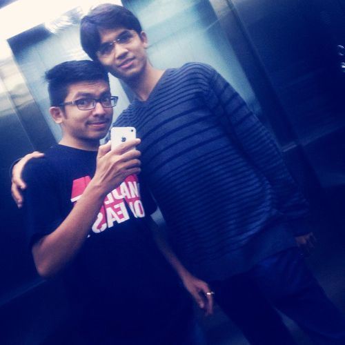 After movie Fnf7. It's time to hve Photo with my Brotherfromanothermother Love u My Brother ❤