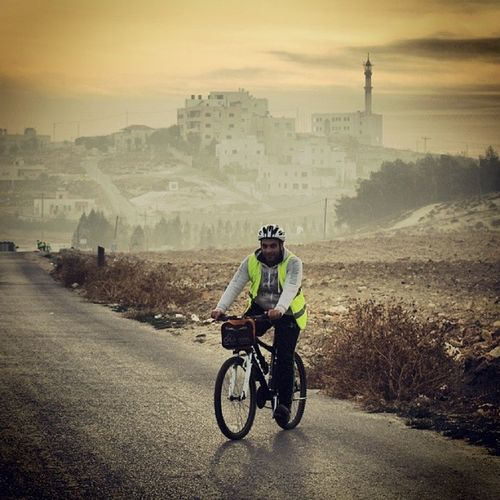 Qandil, The Cyclist! Cycling Naderbikes Morning_cycling Um_Albasateen