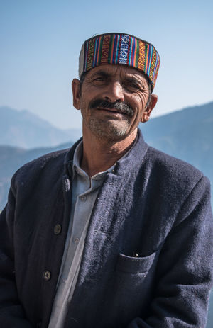 Close-up Day Front View Himachalpradesh India Indian Culture  Looking At Camera Man With Hat Mature Adult One Man Only One Mature Man Only One Person Outdoors Portrait Sky This Is Aging The Portraitist - 2018 EyeEm Awards