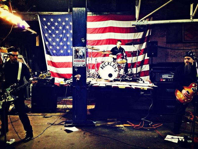 Reckless Libertyvintage Punkrock Liveband Rockshow