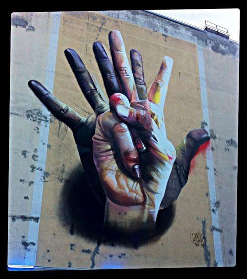 Graffiti | Street Art | Street Photography @ Heinrich-Heine-Strasse /➡️Köpenicker Straße 104, 10179 Berlin http://goo.gl/maps/0PE8Q