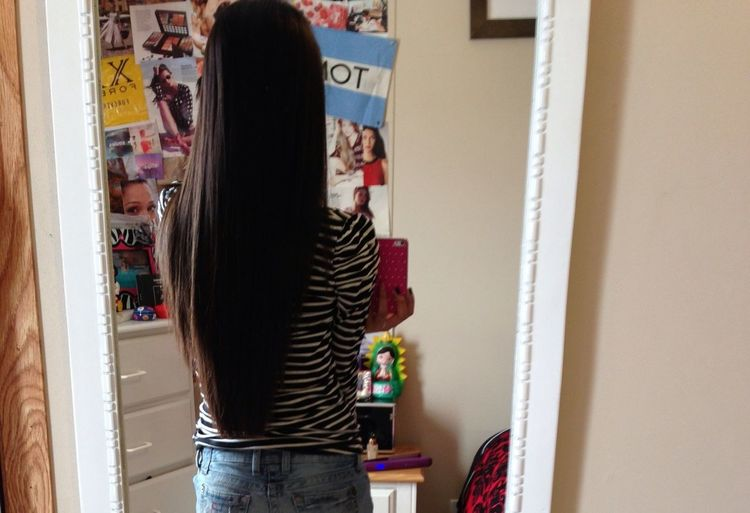 My Hair Is Getting Really Long