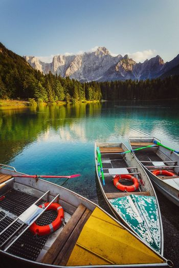 boats on lake. Mountains in background EyeEm Selects Mountain View EyeEm EyeEm Gallery Eyeem Market EyeEm Best Shots - Nature EyeEm Masterclass EyeEm Nature Lover EyeEm Selects Eyeem Market Water Lake Nature Day Mountain No People Plant Sky Nautical Vessel Scenics - Nature Beauty In Nature Tree Transportation Outdoors Tranquility Mode Of Transportation Reflection Tranquil Scene